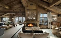 Luxury ski chalet ChaletPearl,Courchevel1850. All including in the French Alps