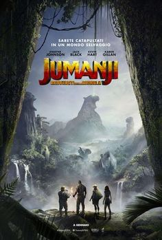 Jumanji - Benvenuti nella giungla, Una punizione si trasformerà in un incredibile avventura, trailer - Sw Tweens