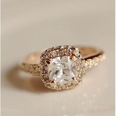 rose gold ring...this is my dream ring!