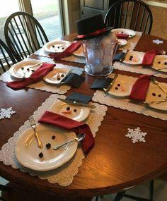 Украшаем стол по-новогоднему