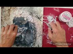 Tela Mixmedia con decoupage e fiori realizzati in pasta scultura Mixedia canvas with decoupage and flowers made of sculpture paste Mixed Media Sculpture, Mixed Media Art, Mix Media, Decoupage, Make It Yourself, Canvas, Art Sculptures, Artist, Youtube