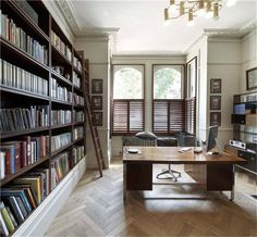 Parquet floor / library