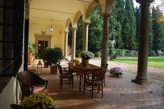 Villa il Poggiale, where my Dad is getting married