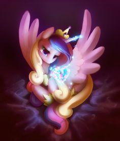 *0* uau! a princesa Cadence é táo linda e fofa! ;)