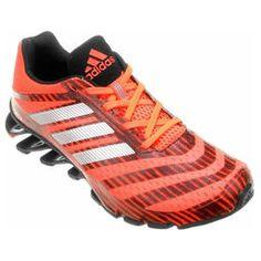 Tênis Adidas Springblade Ignite - Laranja+Preto