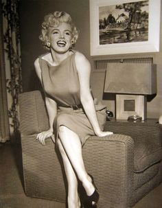 Marilyn Monroe was the #1 sex symbol.