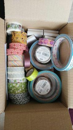 Washi, kawai a látkové pásky...koupíte v našem e-shopu dárkových dekorací.