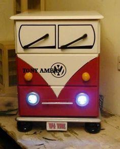 VW style camper van bedside drawers … – SCARBOROUGH – North Yorkshire – Camping & Caravanning | Online Car Boot Sale UK