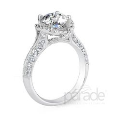 Parade Engagement Rings Style: R2989/R1