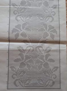 Crochet Bedspread Pattern, Crochet Doily Diagram, Filet Crochet Charts, Crochet Curtains, Crochet Motifs, Thread Crochet, Crochet Doilies, Crochet Lace, Crochet Stitches