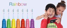 Rainbow, la première brosse à dents connectée pour apprendre aux enfants à se brosser les dents