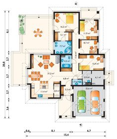 House Plans, Sweet Home, Floor Plans, House Design, Flooring, How To Plan, Architecture, Houses, Building