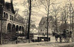 HANNOVER :Georg Kugelmann Hannover Am Eingang des Zoolog. Gartens,