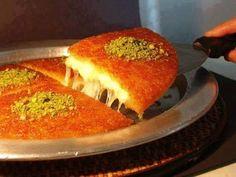 طريقة تحضير الكنافة بالجبن الناعمة وعجينة الفركة/وصفات رمضانChef Ahmad/Cheese Kanafeh - YouTube