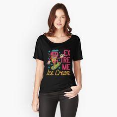 'Hobby Forellenangeln ' Loose Fit T-Shirt von Sky Island Baby Hai, Ho Baby, Graphic T Shirts, Elf Hut, My T Shirt, V Neck T Shirt, Loose Fit, Fashion Art, Gothic Fashion