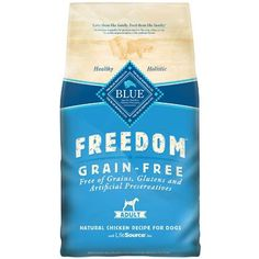 Blue Buffalo Freedom Grain Free Chicken Recipe Adult Dry Dog Food 24-Pound Pet Supplies Near Me
