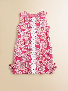 Lilly Pulitzer Kids Toddler's & Little Girl's Little Lilly Classic Shift Dress