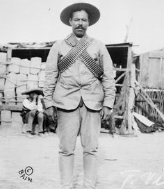 Pancho Villa- Mexican revolutionary, your great grandpa Francisco Guajardo met him. He was also hidden by your great grandpa on his big ass ranch.  His band hid money on their property later discovered by the next owners.