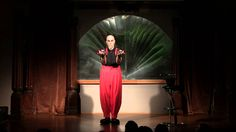 Circus Freaks performer Russ Sharek brings his contact juggling skills to the Open Stage