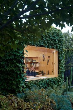 Writer's Shed by Matt Gibson Architecture + Design You can find Writers and more on our website.Writer's Shed by Matt Gibson Architecture + Design Design Exterior, Interior And Exterior, Interior Paint, Shed Design, House Design, Design Design, Modern Design, Design Ideas, Design Firms