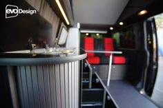 cool campervan and motor home conversions General Motors, Land Rover Defender, Trailers, Rock And Roll Bed, Under Bed Drawers, T2 T3, Smart Bed, Sprinter Conversion