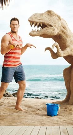 Chris Pratt on His Weight: 'I Might Go Back to Being the Fat Guy': Photo Chris Pratt shows off his signature guns on the cover of Men's Health magazine's July/August 2015 issue. Here's what the Jurassic World star had…