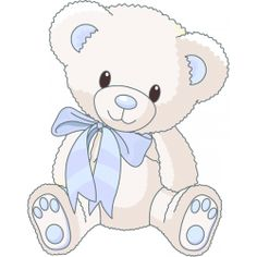 sticker ourson bleu - Coloriage Nounours