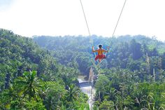 Swing over a cliff!! Visit lush Ubud's and discover these amazing things to do in Ubud that you never knew about!