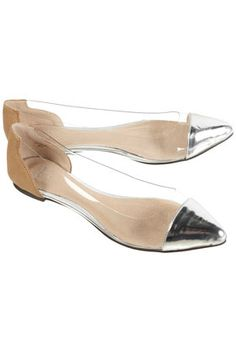 perspex point flats
