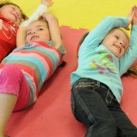 Click link, exercise cube -flap arms, jump etc. great for energetic class  30+Moves+for+Excess+Energy!