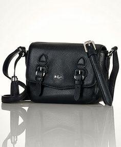 3380ce33235d Lauren Ralph Lauren Peterson Crossbody Handbags   Accessories - Macy s