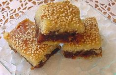 MAAMOUL MAD - Lebanese Date Squares