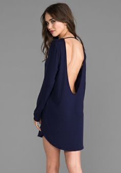 RILLER & FOUNT Matt long-sleeved open-back tunic @A Whole Lotta Love Ly (revolveclothing.com)