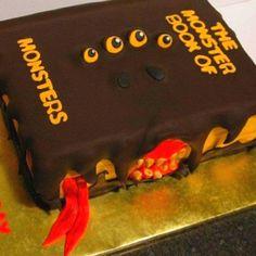 Monster book of Monsters. Harry Potter Cake.