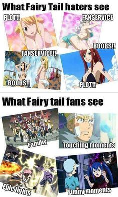 I'm pretty sure Fairy Tail fans see all of those in those two panels. /:))
