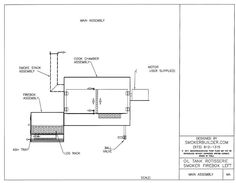 Proper design reverse flow horizontal to vertical smoker bbq oval oil tank rf left side w rotisserie and grilling baskets click image to malvernweather Choice Image