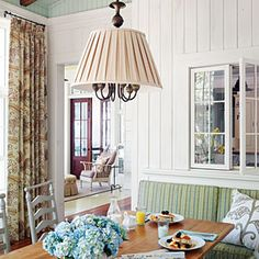 7 Ways To Make a New (Old) House | 5.) Choose Authentic Lighting | SouthernLiving.com