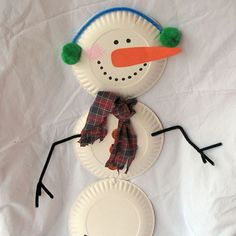 Paper Plate Snowman | Crafts | Spoonful