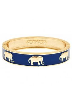 Take a walk on the exotic, wild side with the Enamel Elephant bangles in five color options! #SwellCaroline #ArmCandy
