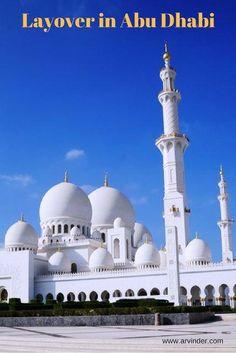 Arv Travels: Layover in Abu Dhabi #AbuDhab