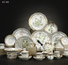 Royal Copenhagen Flora Danica I Think This Is The Most Expensive China In