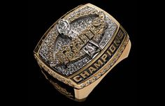 "Super Bowl XXXIV Championship Ring ""RAMS"""