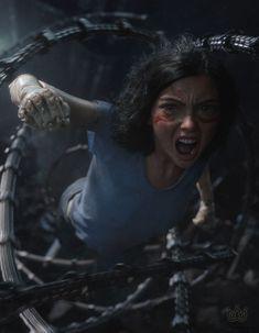 #Alita - Anjo de Combate, chega aos cinemas brasileiros em janeiro de 2019. O #filme é inspirado no mangá de Gunnm. Dos mesmos produtores de Avatar e Titanic.