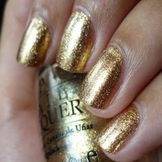 Wish List: OPI Dazzled By Gold