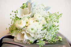 Queen Anne's Lace & White Ranunculus