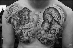 Black Jesus Tattoos