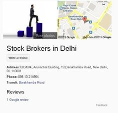 Investment consultants and Share Brokers in Delhi