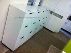 Ikea Galant File Cabinets Installed In Arlington Virginia By Office  Furniture Installation Eperts
