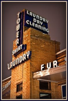 Tower Dry Cleaners by john4kc, via Flickr