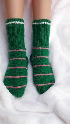 Ankle Socks Houndstooth Fair Isle Slipper Socks Lounge Socks or Slippers